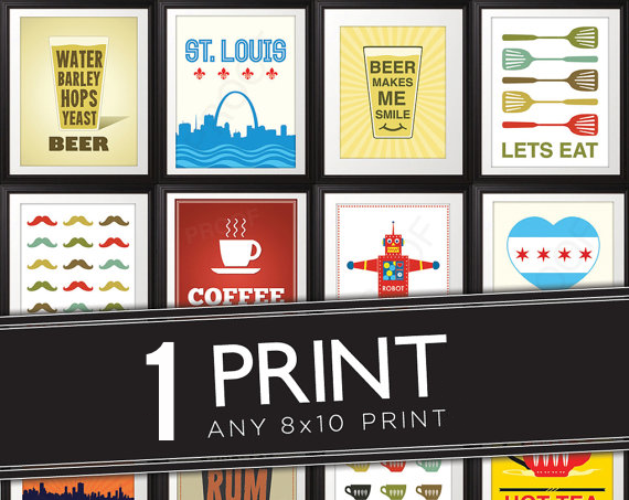 Enter to Win 1 of ANY print from Benton Park Prints