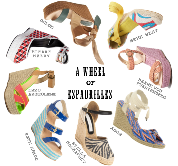 Casual Espadrille Choices for Summer Shoes