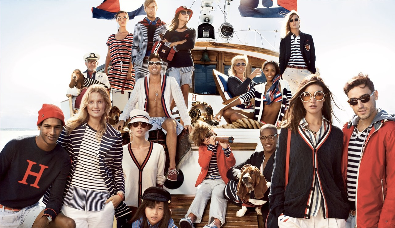 No one does quirky Americana quite like Tommy Hilfiger