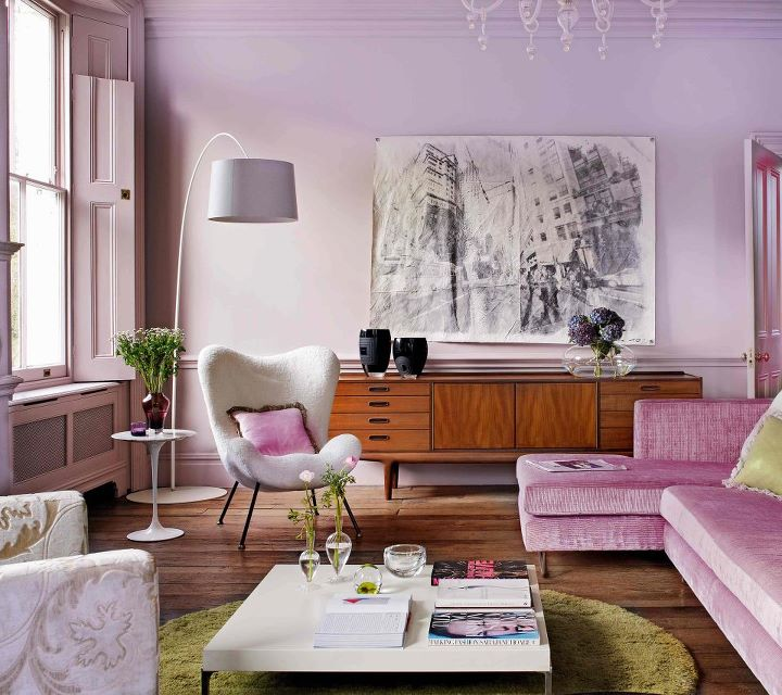 Lilac Bedrooms & Home Decor