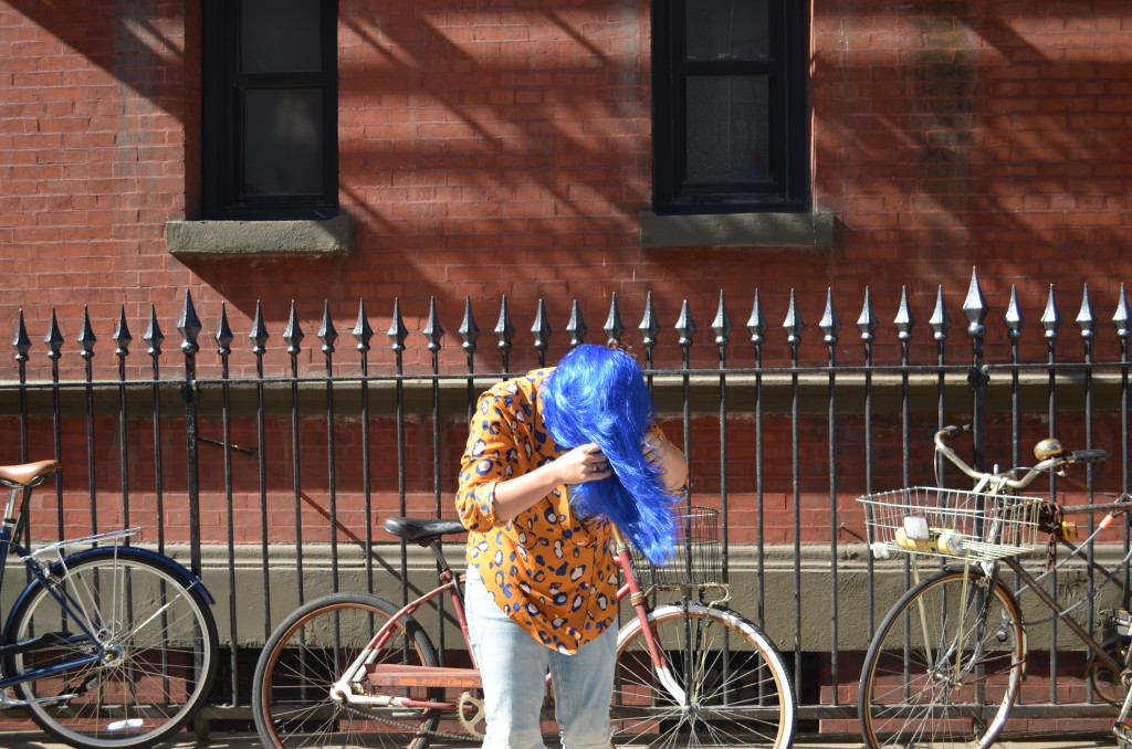 The Fierce Fund - Blue Wig Project