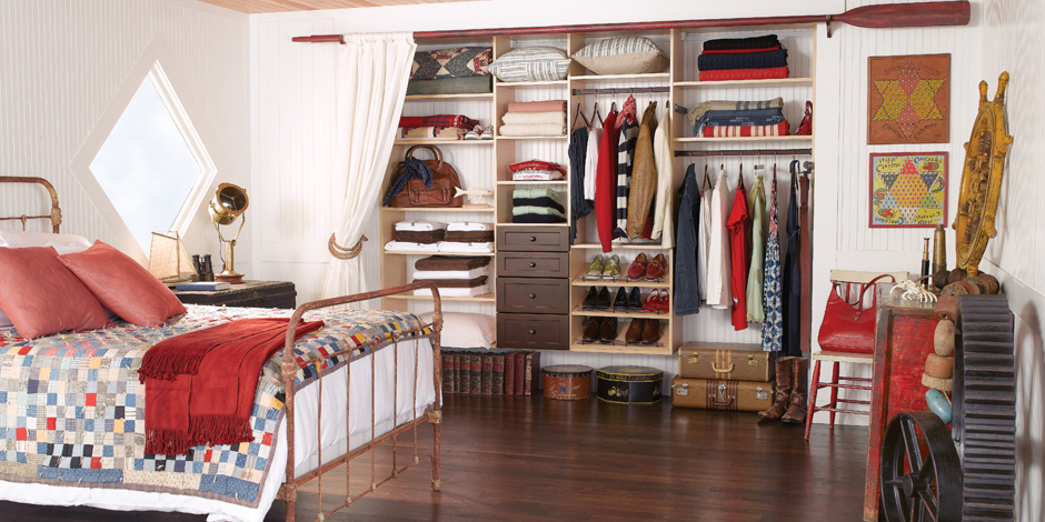California Closets via The Walkup 9