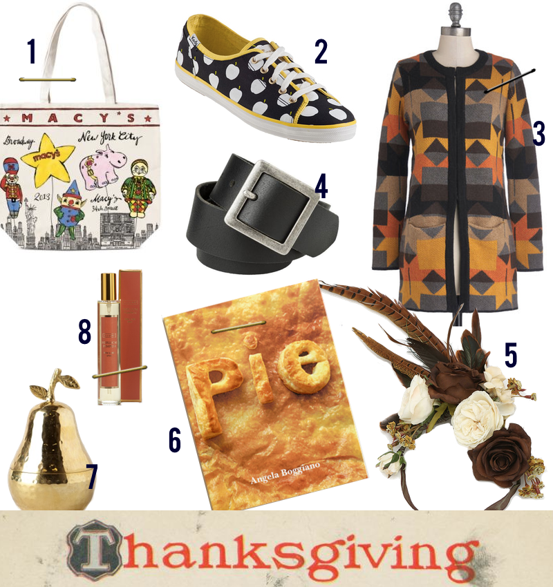 Thanksgiving Fashion and Decor Items