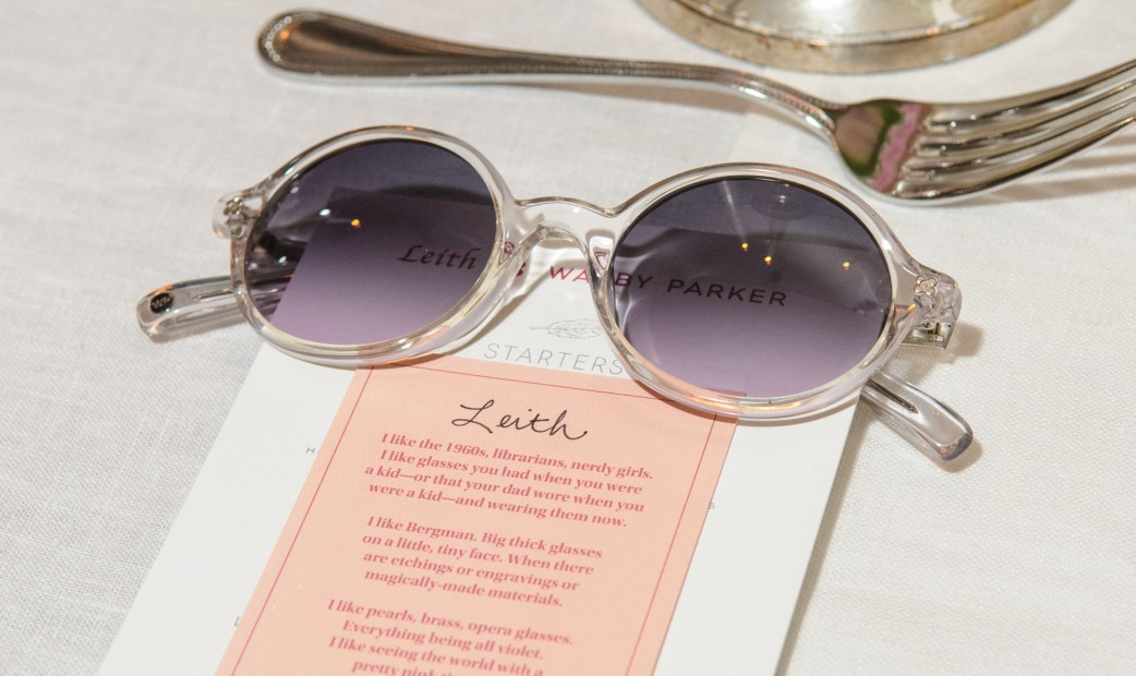 Leith Clark X Warby Parker