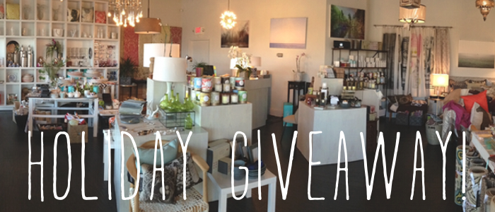 Holiday Giveaway - Burke Decor X The Walkup