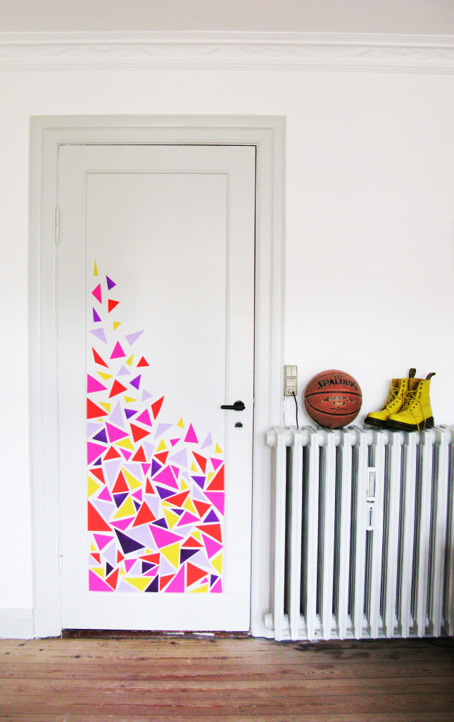 Triangle Wall Decals and Decor