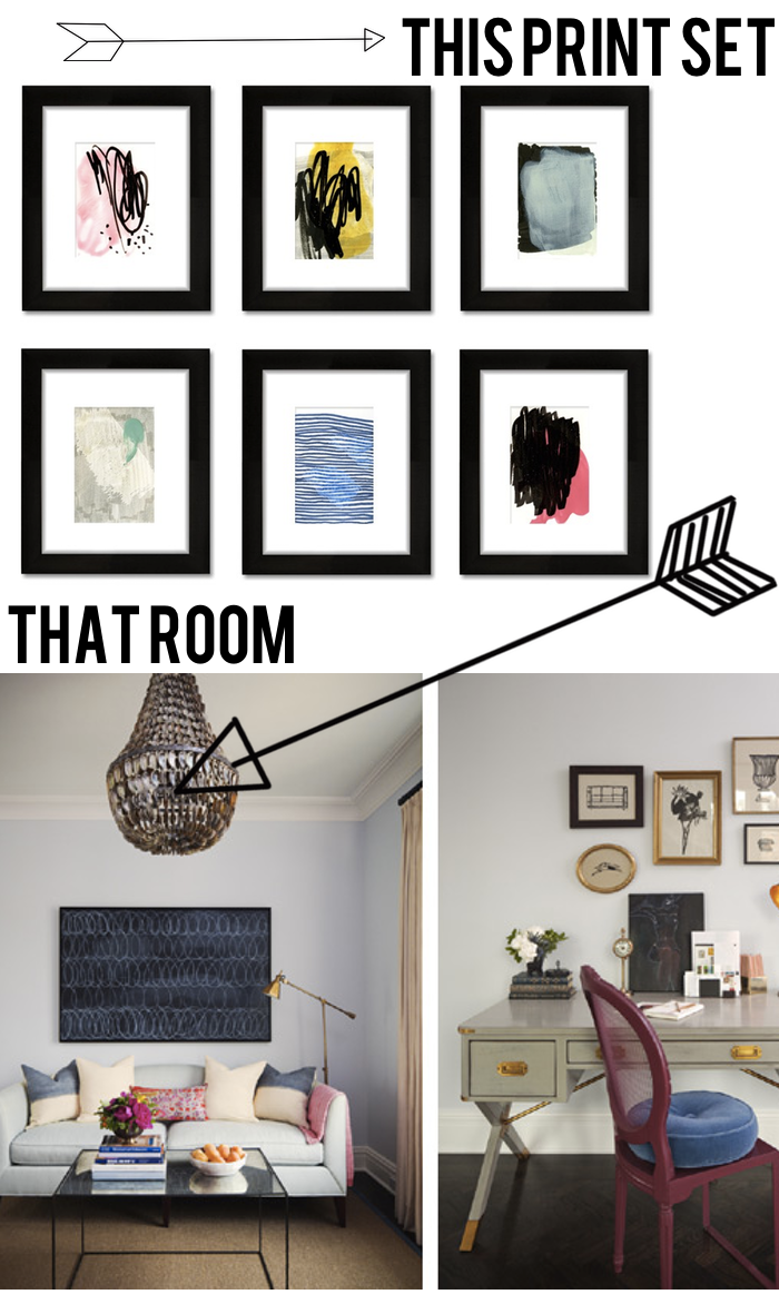 This Master  Bedroom That Tappan Collective Print Set