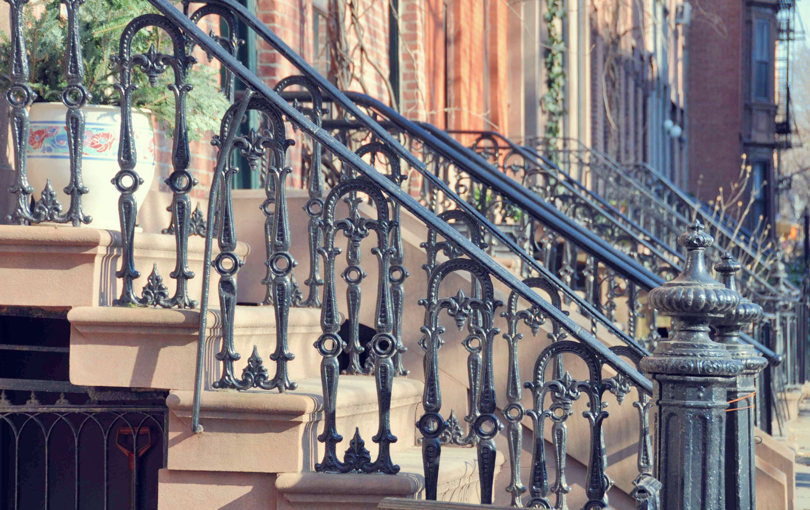 Brooklyn Brownstone Stairs