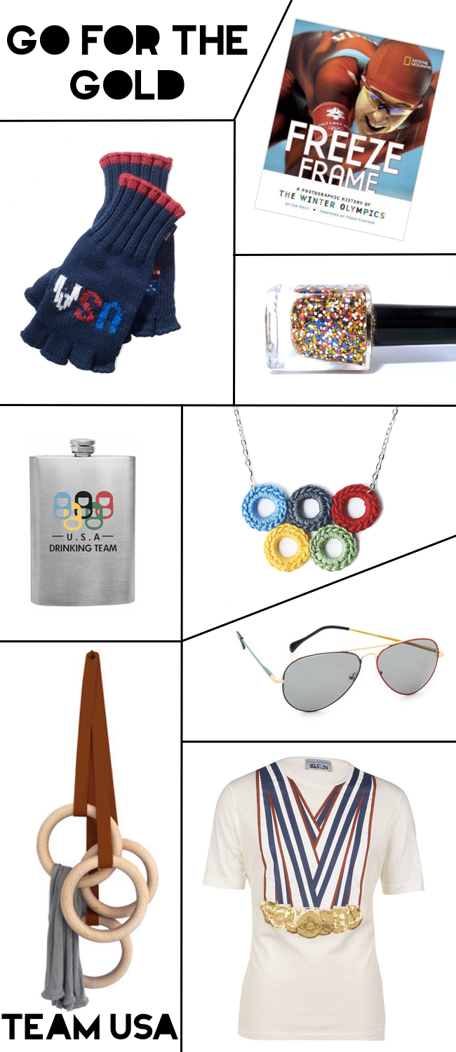 Inspired by the Sochi 2014 Winter Olympics, featuring limited edition TShirts, Sunglasses, Nailpolish and more!