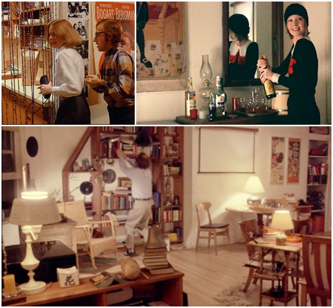 Set Design and Costumes from Woody Allen's Play it Again, Sam