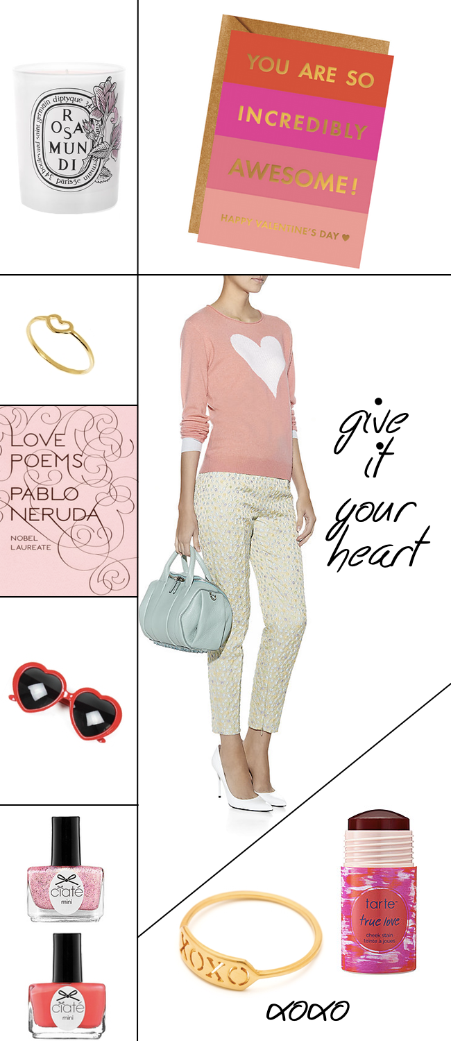 Hearts and Pink Lifestyle Items Inspired by Valentine's Day
