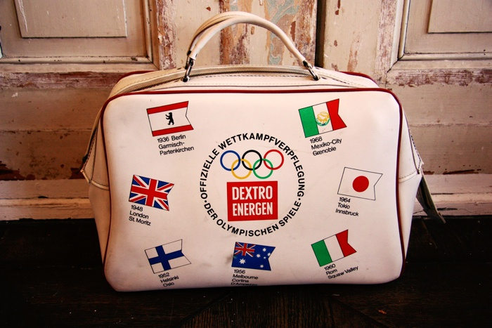 Vintage Olympic Travel Bag from the Sixties