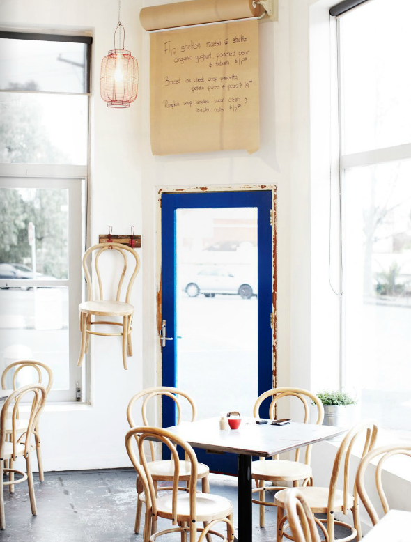 EST Magazine Parisian Cafe Chair via Decor 8