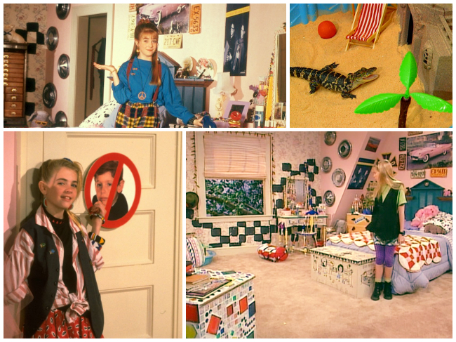 How to live in the bedroom from Clarissa Explains it All, Nickelodeon, Melissa Joan Hart