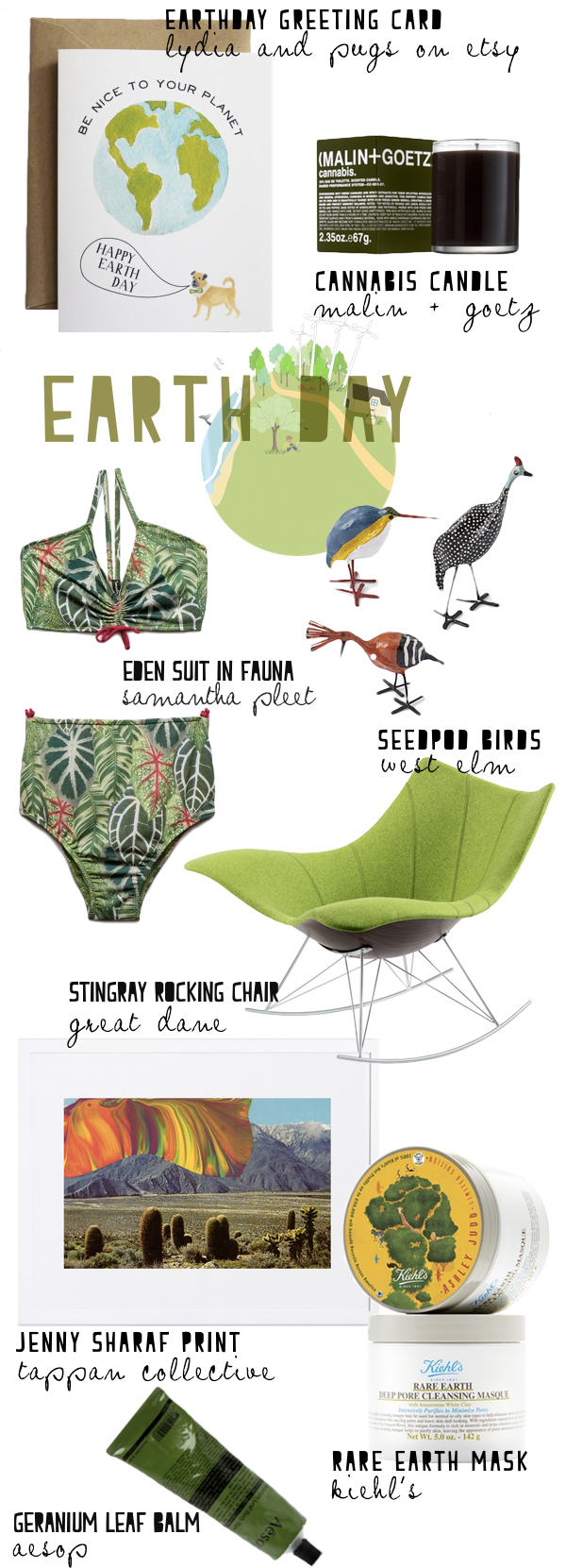Earth Day 2014 from The Walkup featuring Aesop, West Elm, Great Dane and more!
