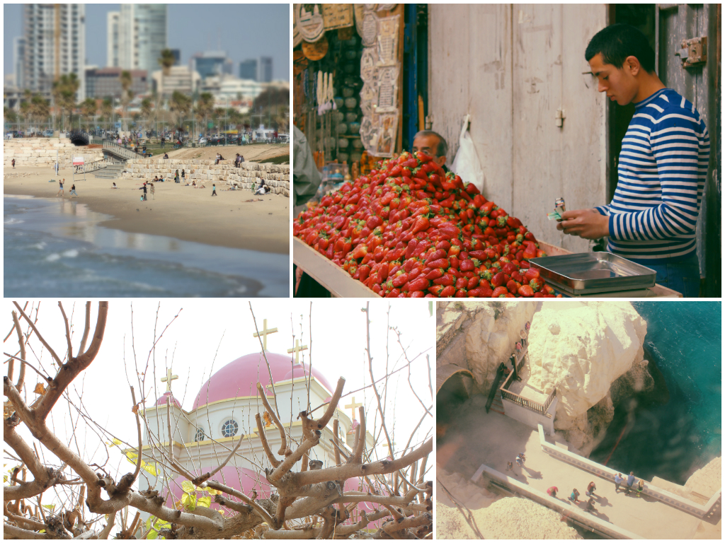 TheShuk, Tiberias and Tel Aviv via The Walkup