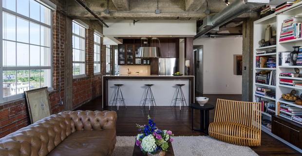Houston Loft Photo by Peter Molick