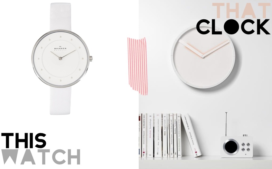 This Watch That Clock featuring Asos Skagen and Lexon's Glow