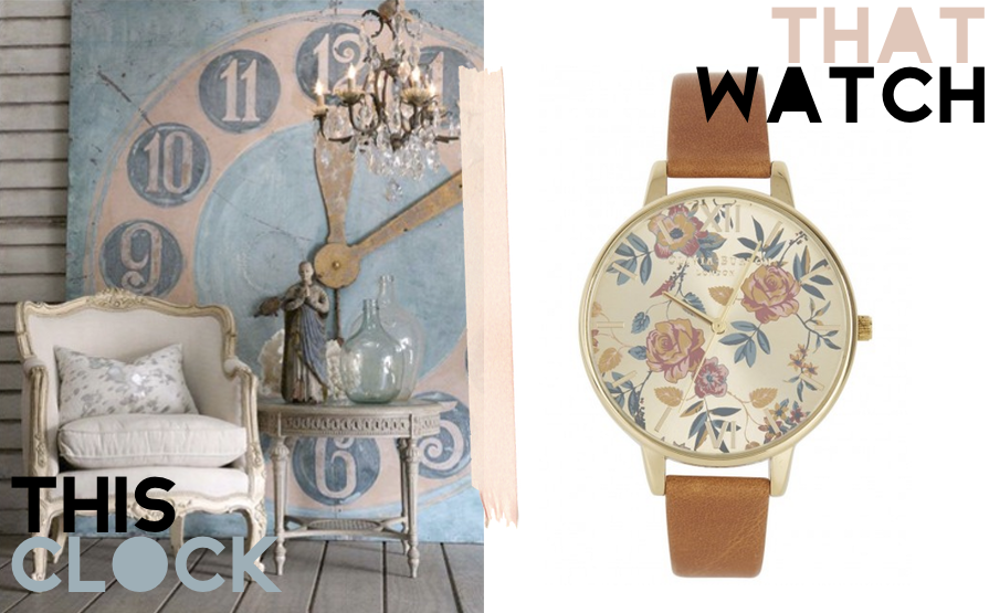 This Watch That Clock featuring Olivia Burton and The Bella Cottage