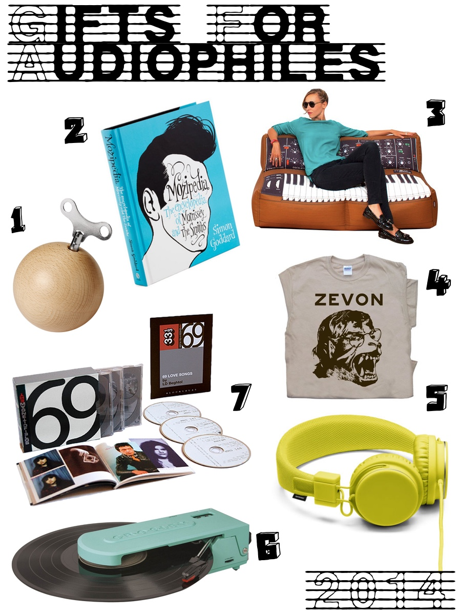 Holiday Guide 2014 - Gifts for Audiophiles and Music Lovers