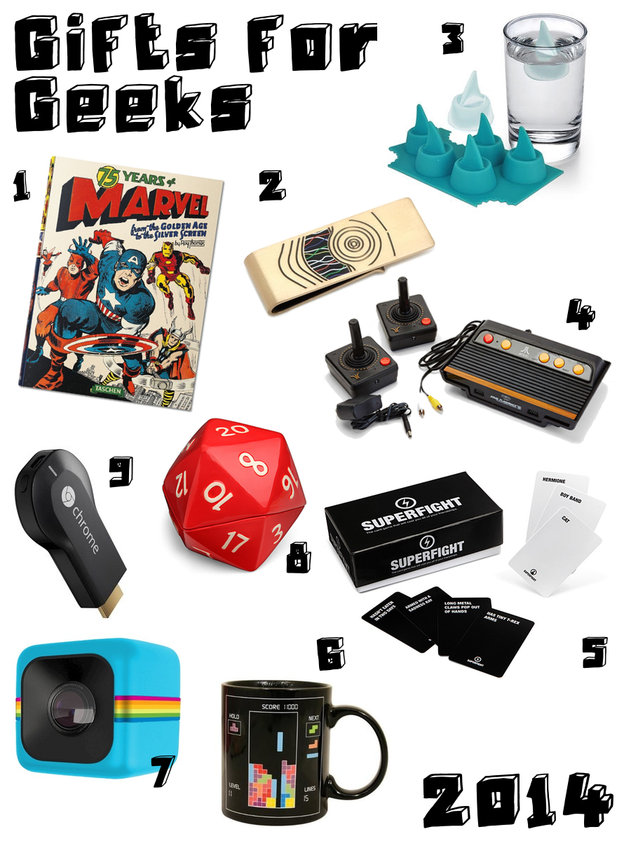 Holiday Guide 2014 - Gifts for Geeks
